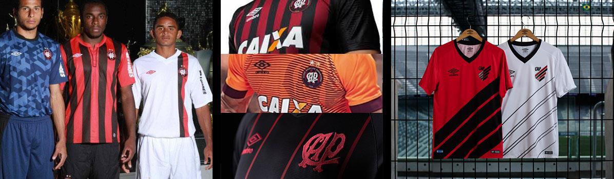 Fotos uniformes do Atletico Paranaense