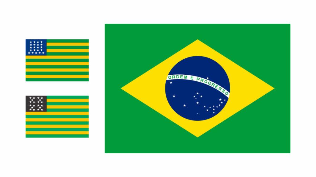 Bandeiras do Brasil a partir de 1889
