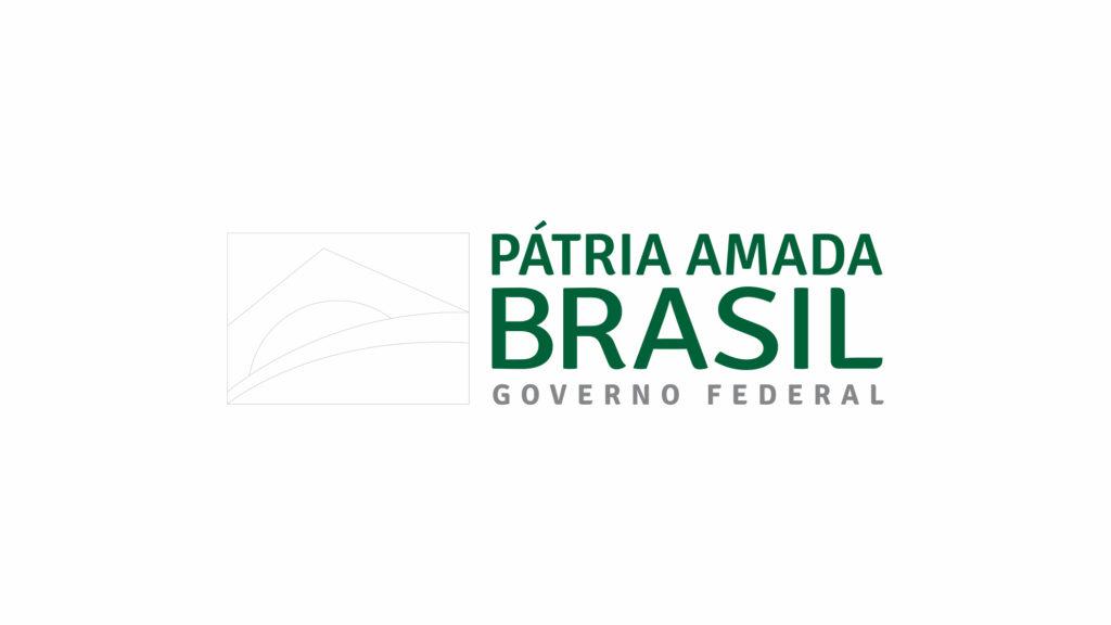 logotipo pátria amada brasil